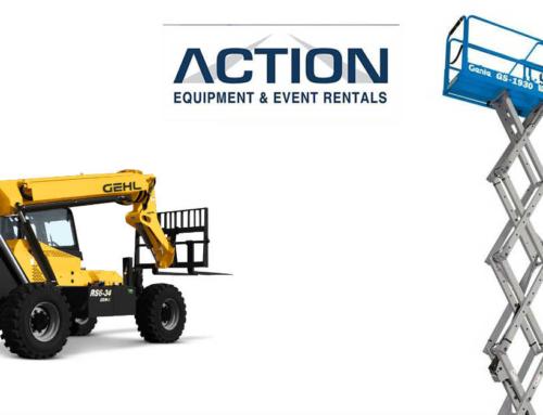 Action Equipment & Event Rentals lists with Fleet Up