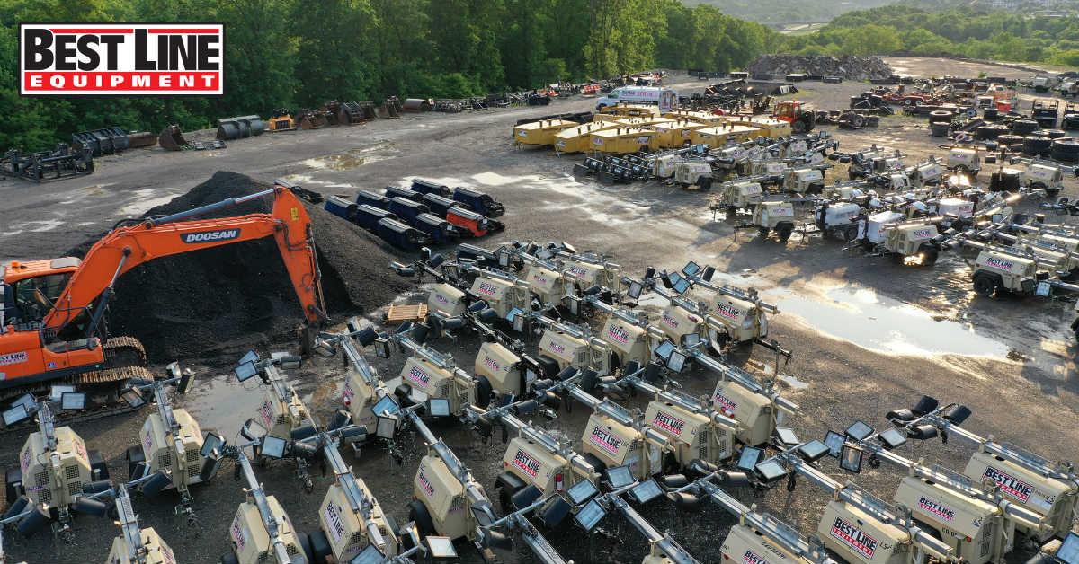 best line equipment fleet up