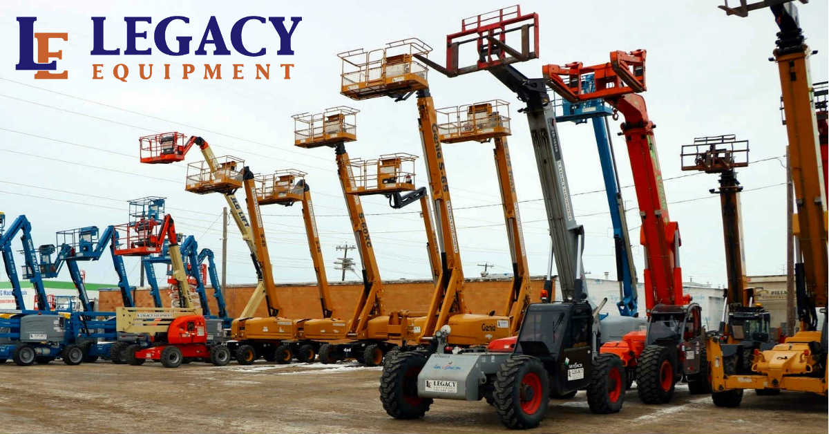 legacy equipment fleet up