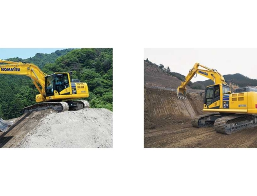 Komatsu's PC210LCi-11 excavator delivers versatility in a compact size