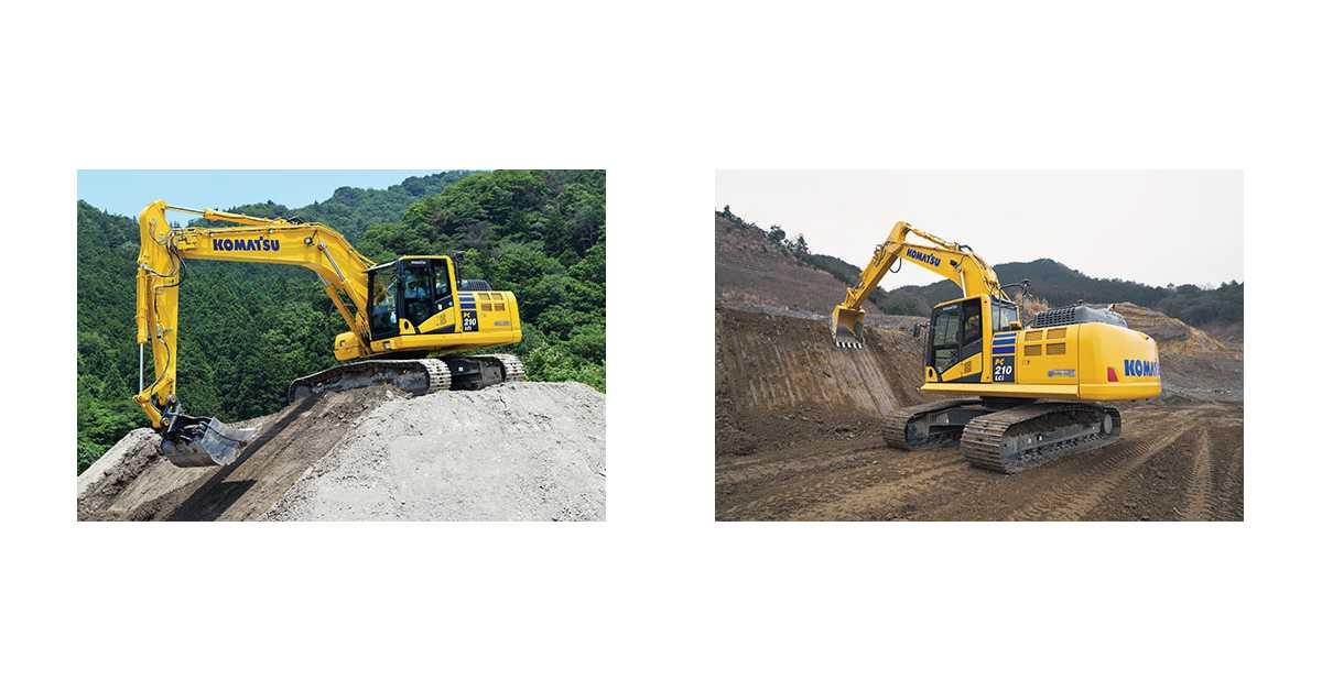 Komatsu's PC210LCi-11 excavator
