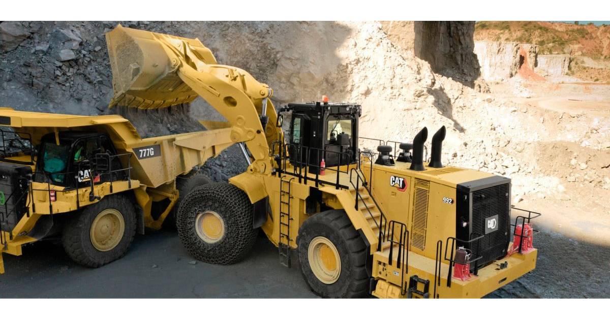 cat 992 wheel loader