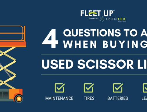 Buying A Used Scissor Lift: 4 Questions You Should Ask