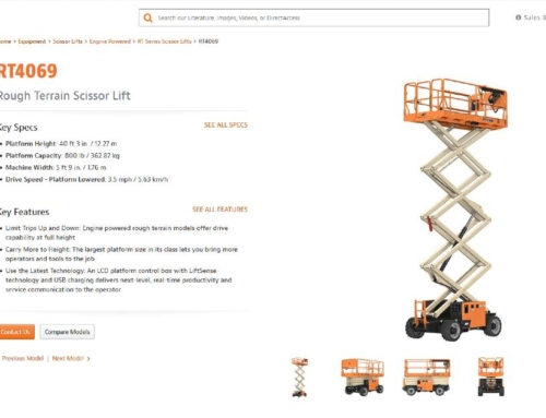 New JLG RT and ERT Scissor Lifts For Sale